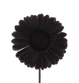 Fleur Germini  marron  foncé