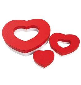 Caja Corazón por 20 macarons