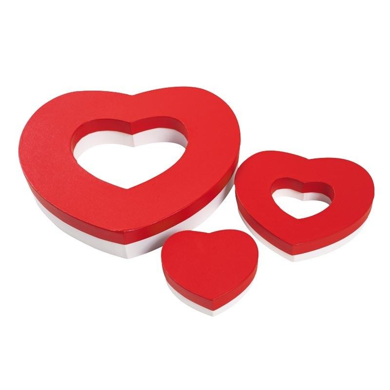 Schachtel Herz für 20 Macarons