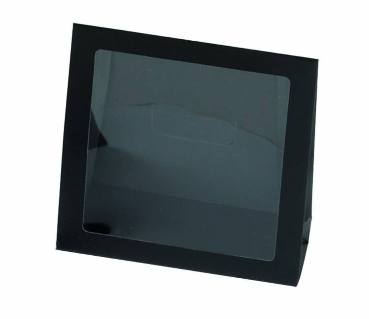 Black window bag - 50 pieces