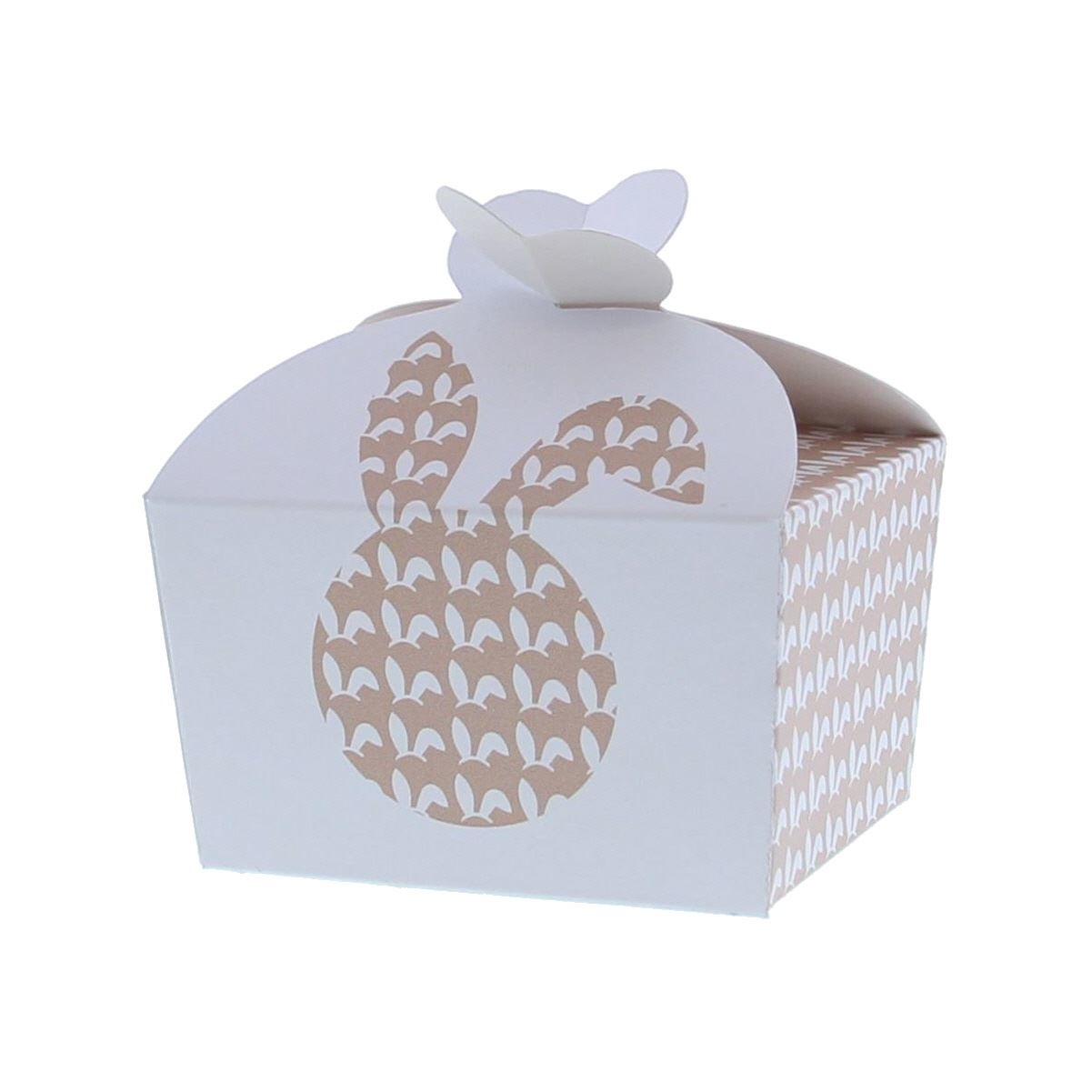 """Butterfly Box """"Bunny Ears"""" 500 grams - 125*100*105mm - 50 pieces"""