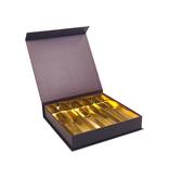 Magnet Bonbon Boxes Brown 25 Chocolates - 16,8*16,8*3 cm - 12 pieces