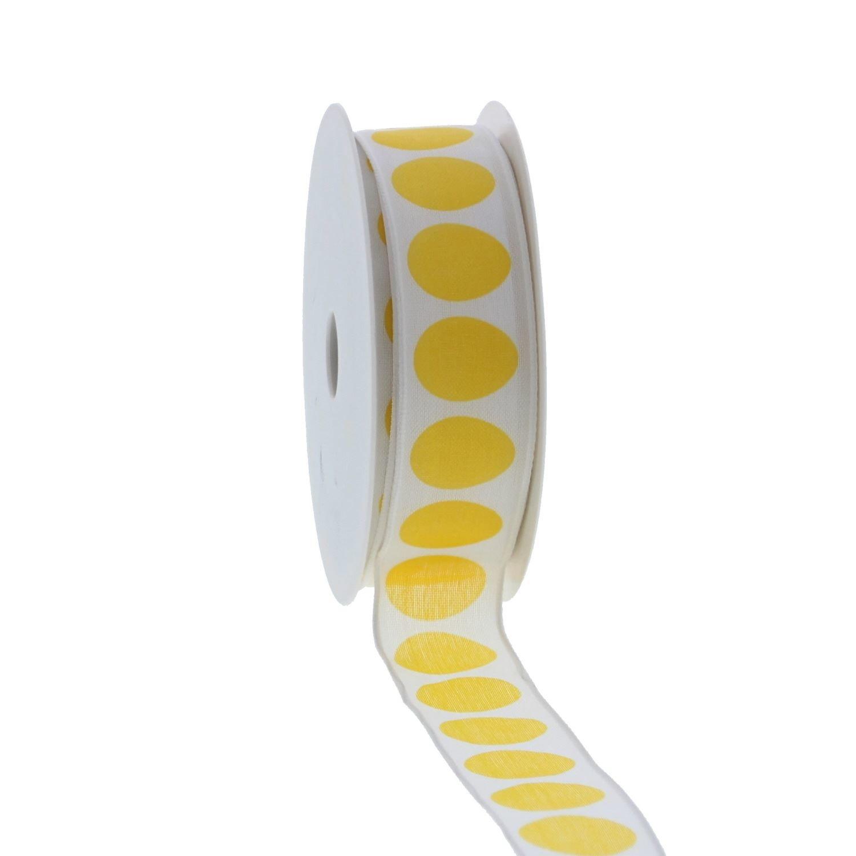 Band Ei-Design - Gelb - 25mm - 20m