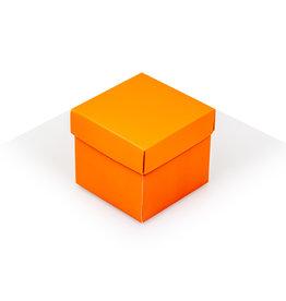 Cubebox - Mat oranje