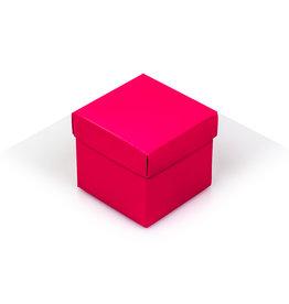 Cubebox - Glanzend magenta