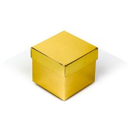 Cubebox - Glanzend goud