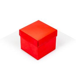 Cubebox - Glanzend rood