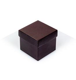 Cubebox - Glänzend Braun