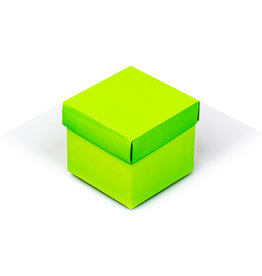 Cubebox - Glanzend limoen