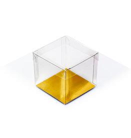 Cubebox - Transparant bodem en deksel