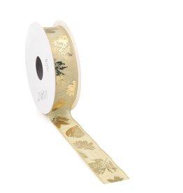 Foglie ribbon - Gold