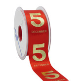 5 December Band - Red