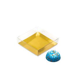 Transparanten Schachtel - 80*80*20mm - 150 Stück
