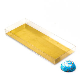 Transparanten Schachteln  - 200*80*21mm  - 100 Stück