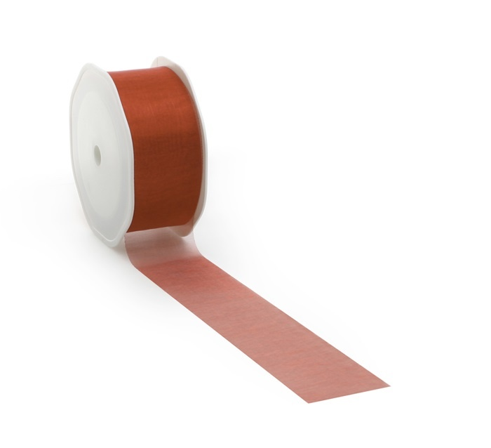 Voile ribbon -Red