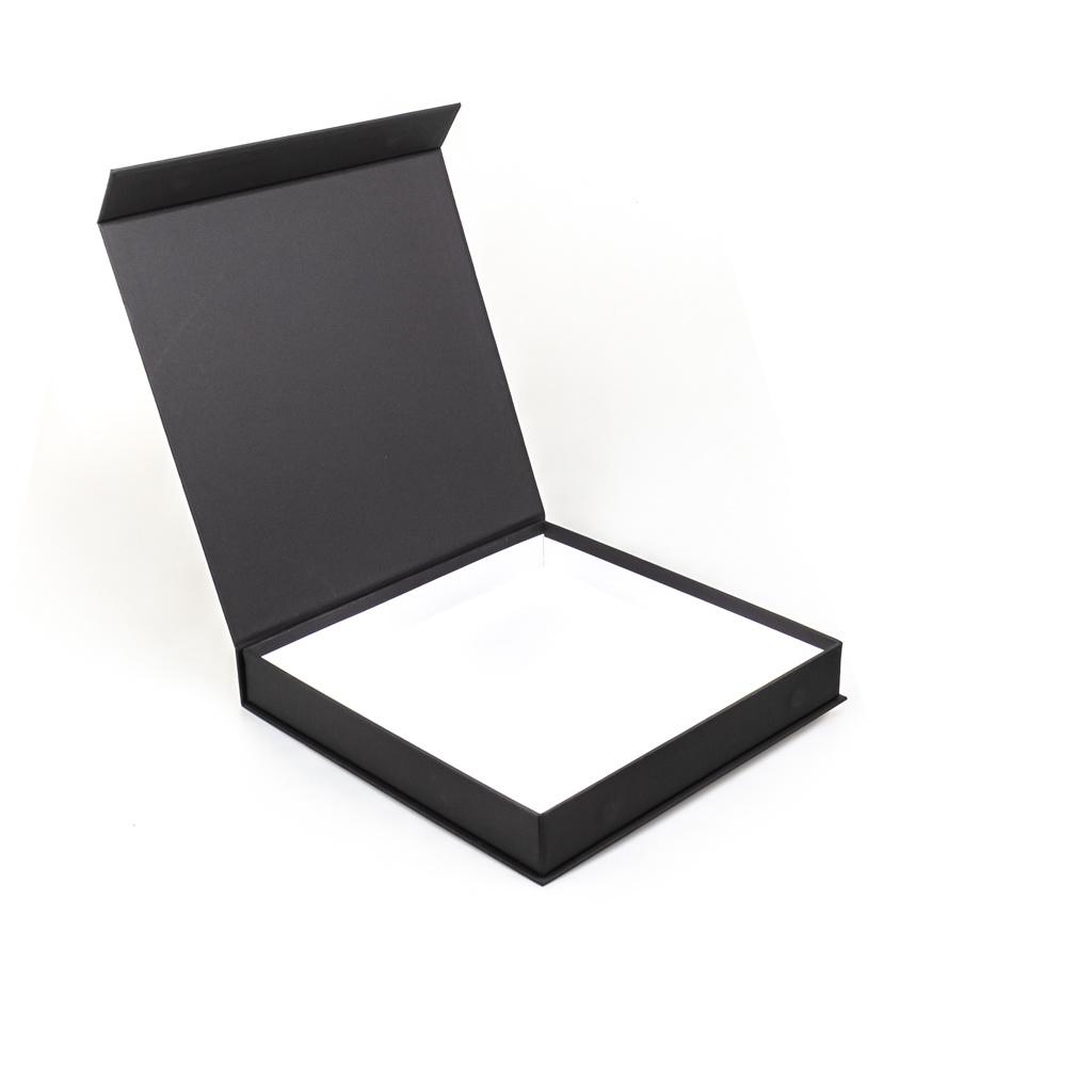 Magnet Bonbon Schachtel Mattschwarz 49 Bonbons  - 210*210*35mm - 12 Stück