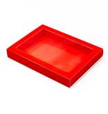 Letterdoosjes rood met sleeve - 175 * 120 * 27 mm - 100 stuks