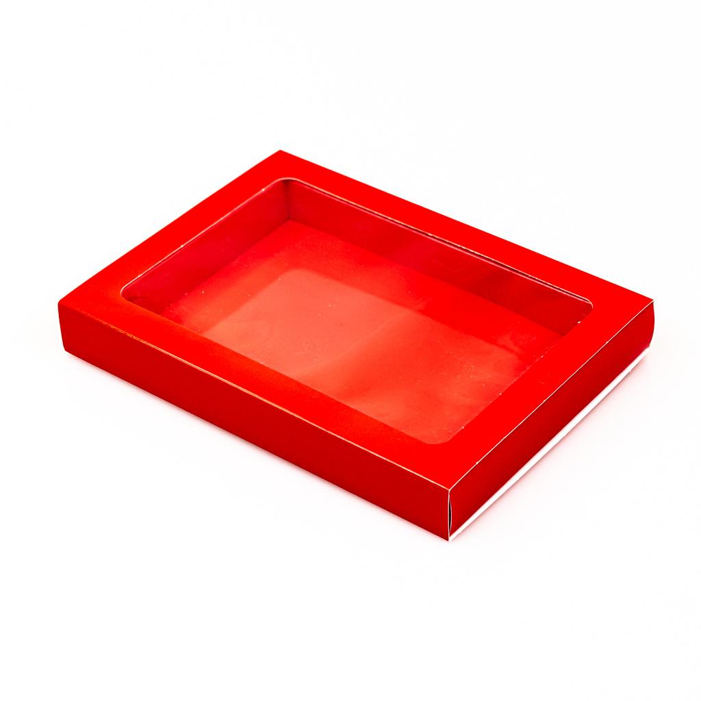 Schachtel Rot mit Hülse - 175 * 120 * 27 mm