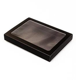 Schachtel Mattschwarz mit Hülse