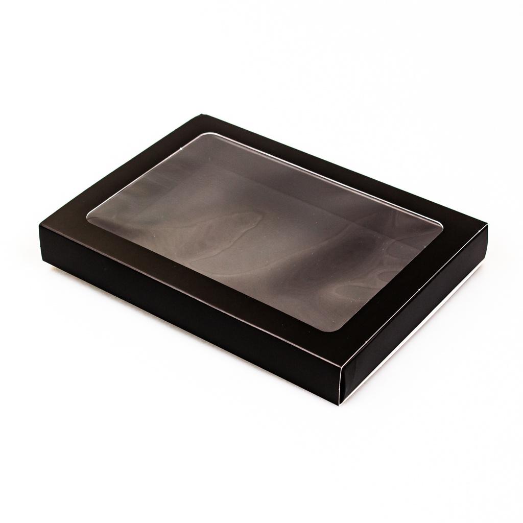 Letterdoosjes mat Zwart met sleeve - 175 * 120 * 27 mm - 100 stuks