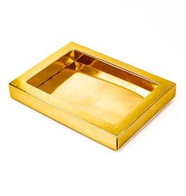 Boîte Or avec pochette