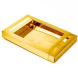 Schachtel Gold mit Hülse - 175 * 120 * 27 mm