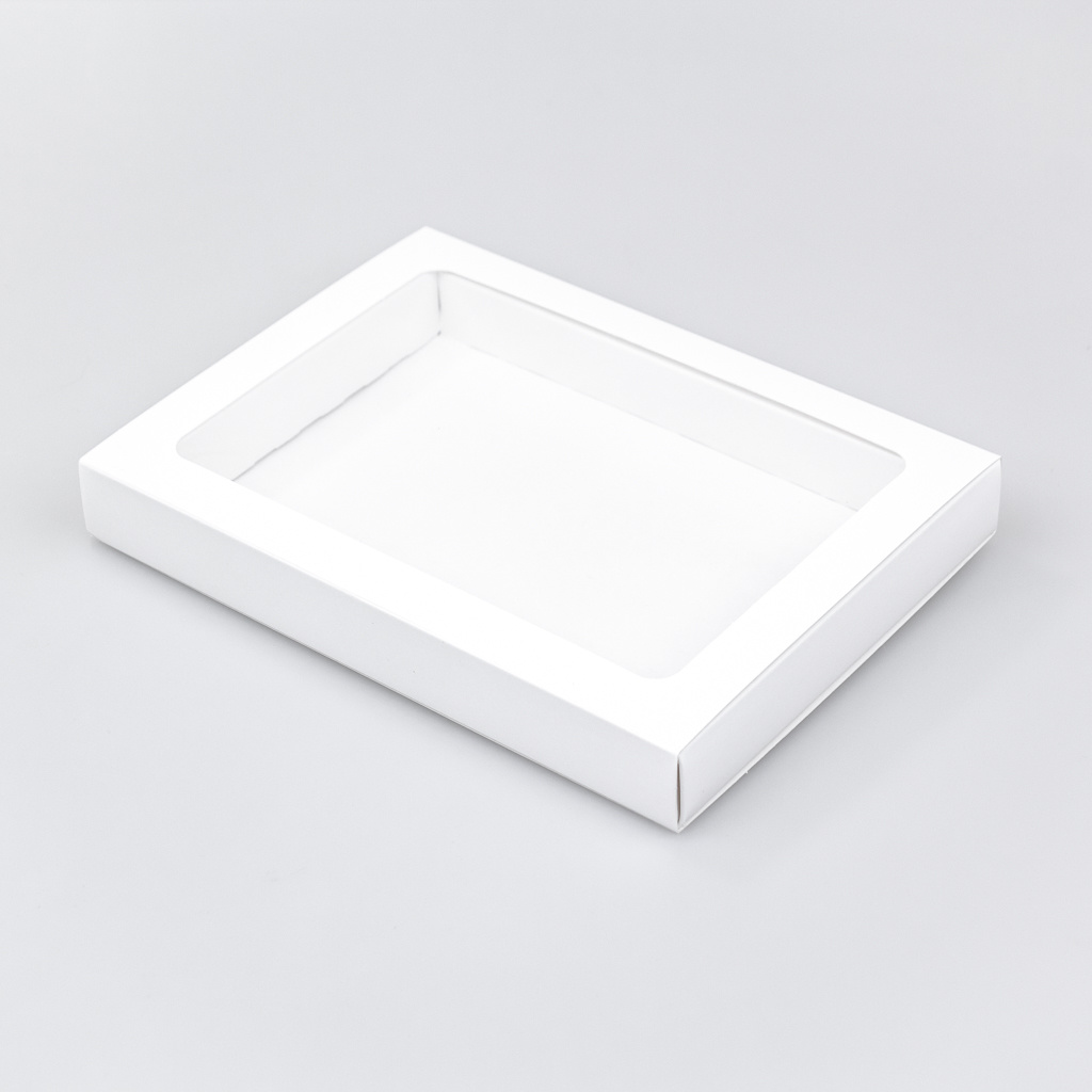 Schachtel Weiß mit Hülse - 175 * 120 * 27 mm