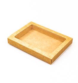 Boîte kraft avec pochette