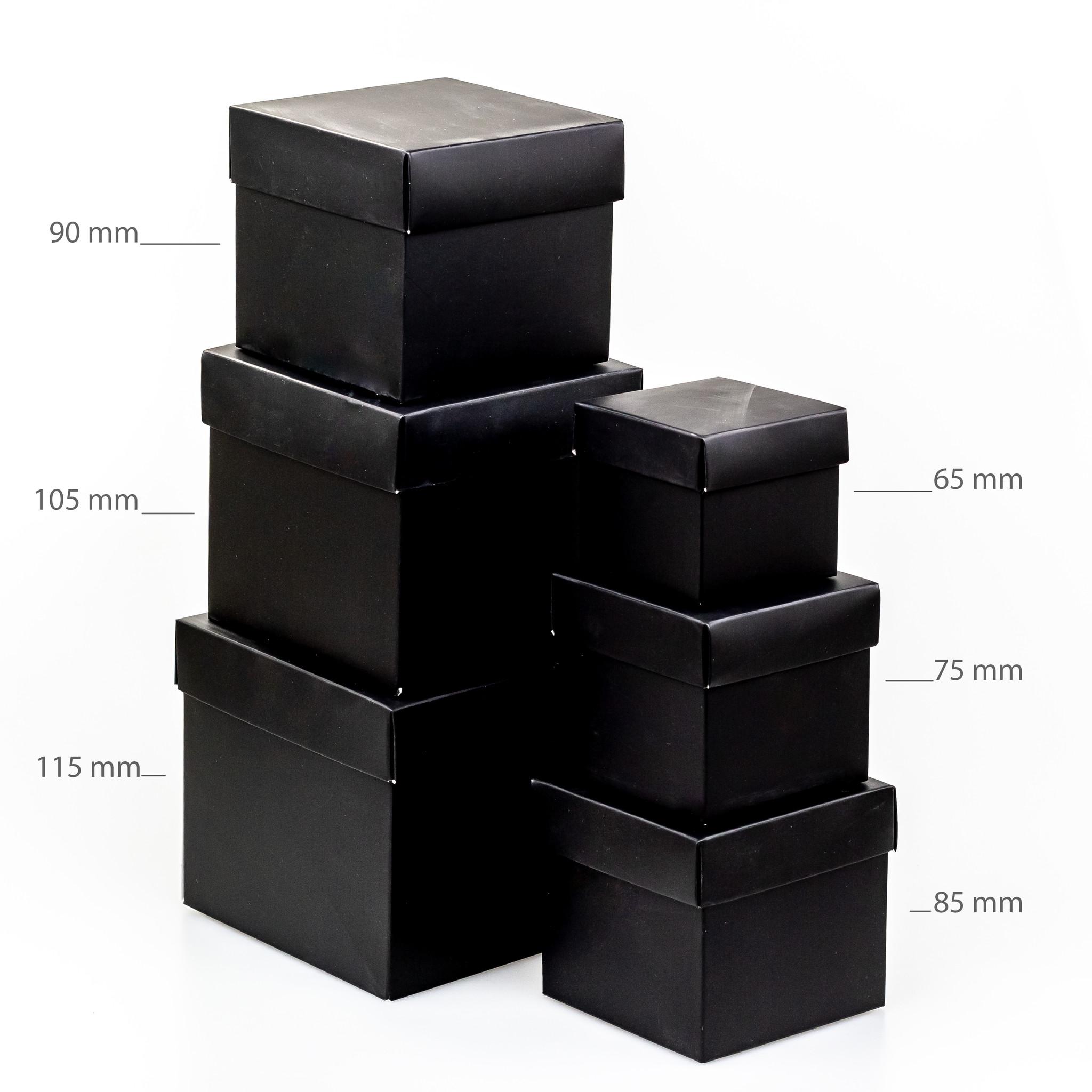 Cubebox - Schwartz mit Gold Marmor