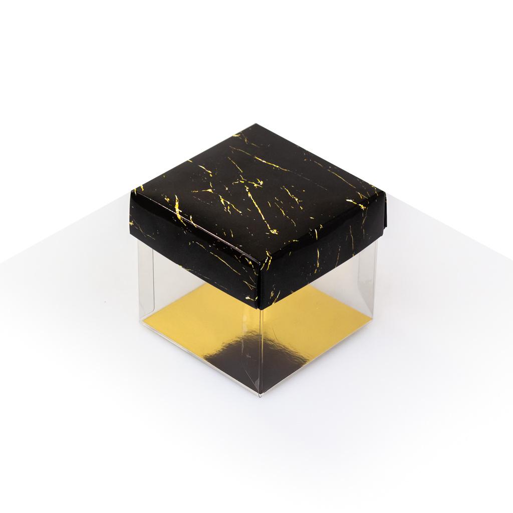Cubebox - Noir avec or marbre