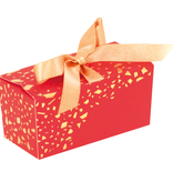 "Ballotin ""Feerique"" with ribbon - red"
