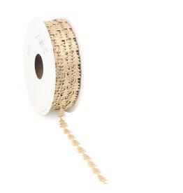 YULE cord Ruban - Or clair