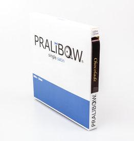 """Single satin """"Chocolade"""" Ribbon - Brown"""