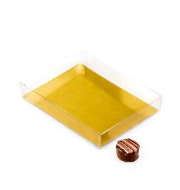 Transparant doosje 150 * 110 *25 mm - 50 stuks