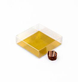 Transparant doosje - 100 * 100 * 30 mm  - 100 stuks