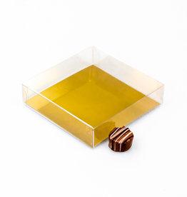 Transparant doosje - 120 * 120 * 30 mm - 100 stuks