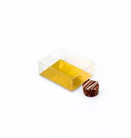 Transparanten Schachteln - 77 * 60 * 30 mm - 125 Stück