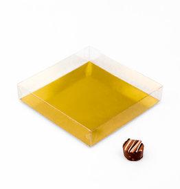 Transparanten Schachtel - 150 * 150 * 30 mm - 50 Stück