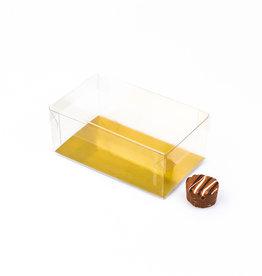Transparanten Schachteln  -12 * 7 * 5 cm - 125 Stück