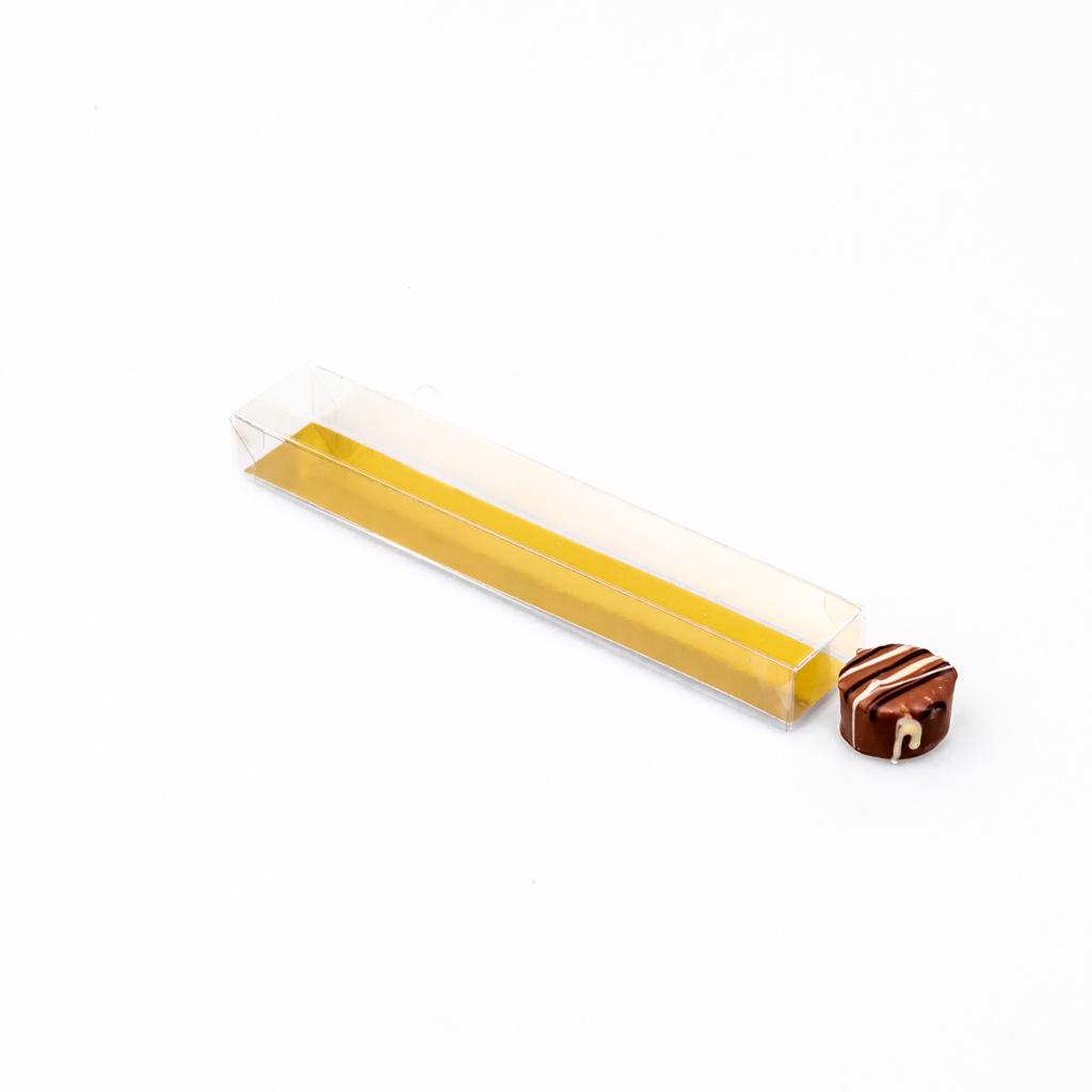 Trüffelstangen mit Goldkarton - 18 * 3 * 2 cm - 100 Stück