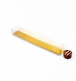 Trüffelstangen mit Goldkarton - 20*3*2,5 cm