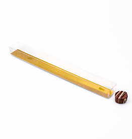 Trüffelstangen mit Goldkarton -  30*3*2,5 cm