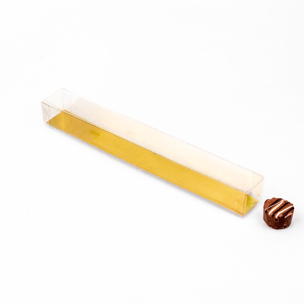 Mica repels met goudkarton -  25 * 3 * 3 cm - 100 stuks