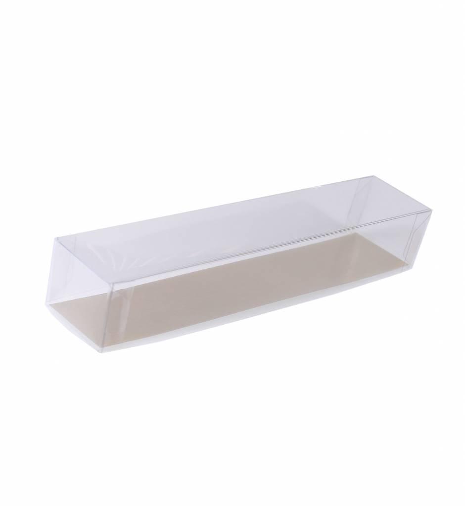 Cajas transparentes bombón trufado