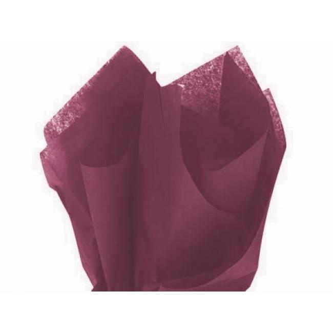 Tissue paper bordeaux - 50 * 70 cm (480 sheets)