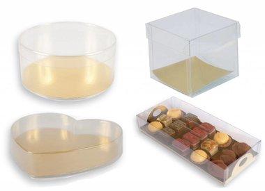Boîtes transparant