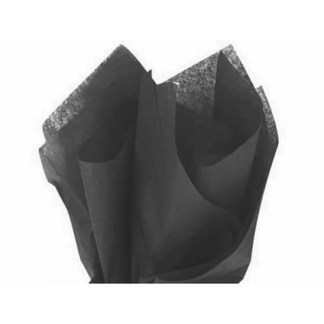 Tissue paper black - 50 * 70 cm (480 sheets)
