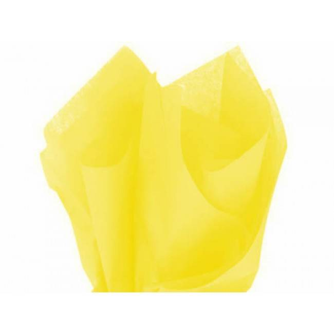 Tissue paper yellow - 50 * 70 cm (480 sheets)