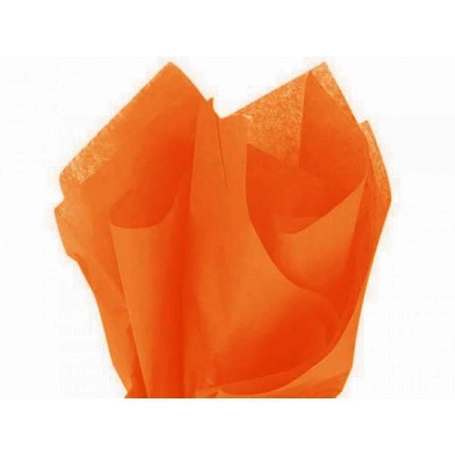 Tissue paper orange - 50 * 70 cm (480 vellen)