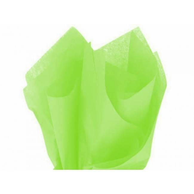 Tissue paper lime - 50 * 70 cm (480 vellen)